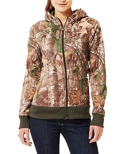 Under Armour Women`s Camo Full Zip Hoody, L, REALTREE AP/FAW