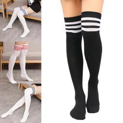 Women Soft Over Knee Extra Long Boot Knit Socks Thigh High W