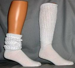 WOMENS EXTRA LONG AND HEAVY SLOUCH SOCKS  DANCE, WORKOUTS SI