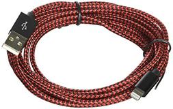 Xcords Lightning Cable 3Pack 10FT Extra Long Nylon Braided C