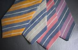 BROOKS BROTHERS XL Tie Extra Long Linen Silk - $79.50 NWT -
