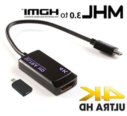 C-zone Xperia Z Ultra MHL 3.0 HDTV Adapter! Easily Connects