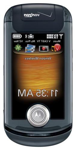 Motorola ZN4 Krave Phone, Black